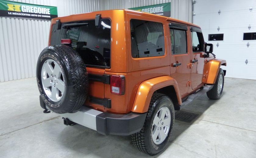 2011 Jeep Wrangler Sahara 4X4 A/C Gr-Électrique #6