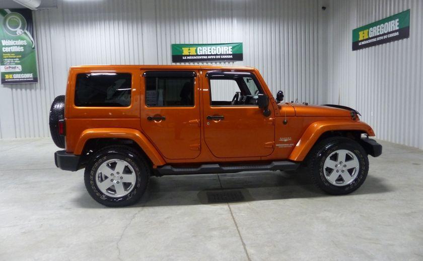 2011 Jeep Wrangler Sahara 4X4 A/C Gr-Électrique #7