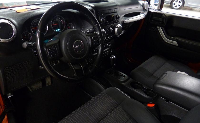 2011 Jeep Wrangler Sahara 4X4 A/C Gr-Électrique #8