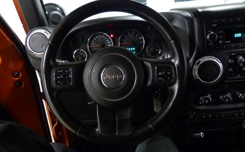 2011 Jeep Wrangler Sahara 4X4 A/C Gr-Électrique #9
