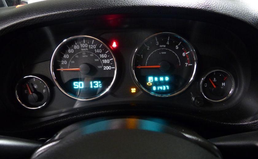 2011 Jeep Wrangler Sahara 4X4 A/C Gr-Électrique #10