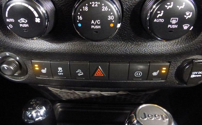 2011 Jeep Wrangler Sahara 4X4 A/C Gr-Électrique #13