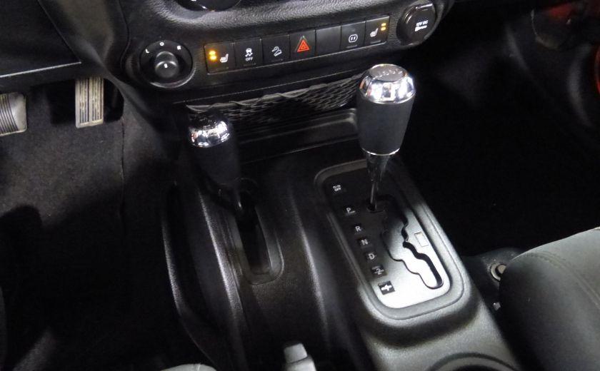2011 Jeep Wrangler Sahara 4X4 A/C Gr-Électrique #14