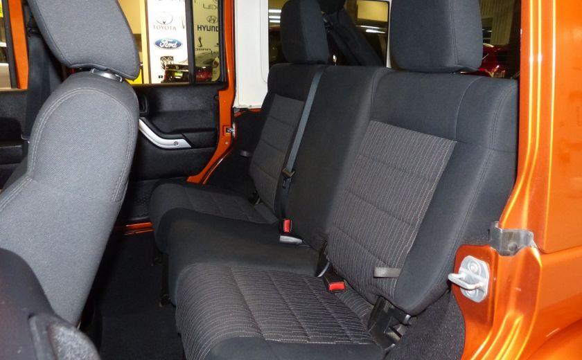 2011 Jeep Wrangler Sahara 4X4 A/C Gr-Électrique #17