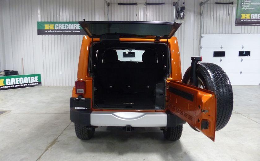 2011 Jeep Wrangler Sahara 4X4 A/C Gr-Électrique #18