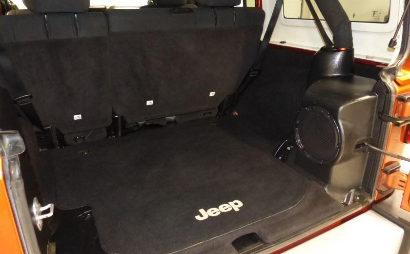 2011 Jeep Wrangler Sahara 4X4 A/C Gr-Électrique #19