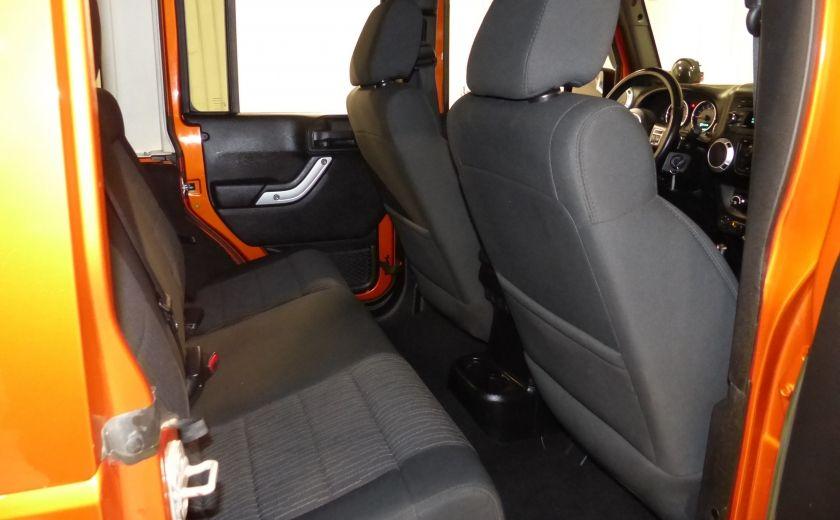 2011 Jeep Wrangler Sahara 4X4 A/C Gr-Électrique #20