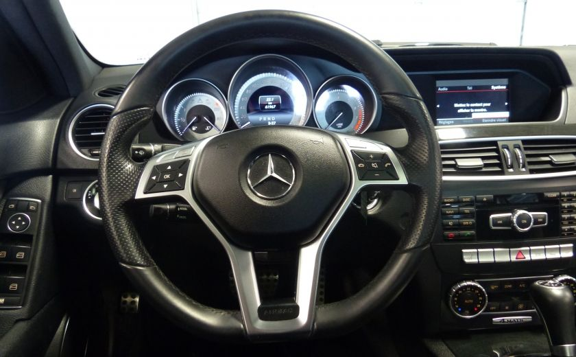 2014 Mercedes Benz C300 4 Matic AWD (CUIR-TOIT) A/C Gr-Électrique Bluetoot #10