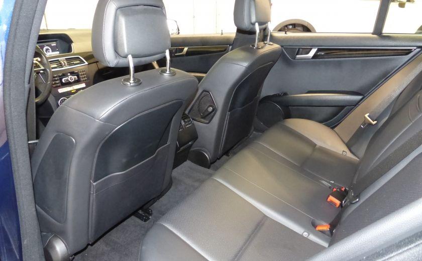 2014 Mercedes Benz C300 4 Matic AWD (CUIR-TOIT) A/C Gr-Électrique Bluetoot #24