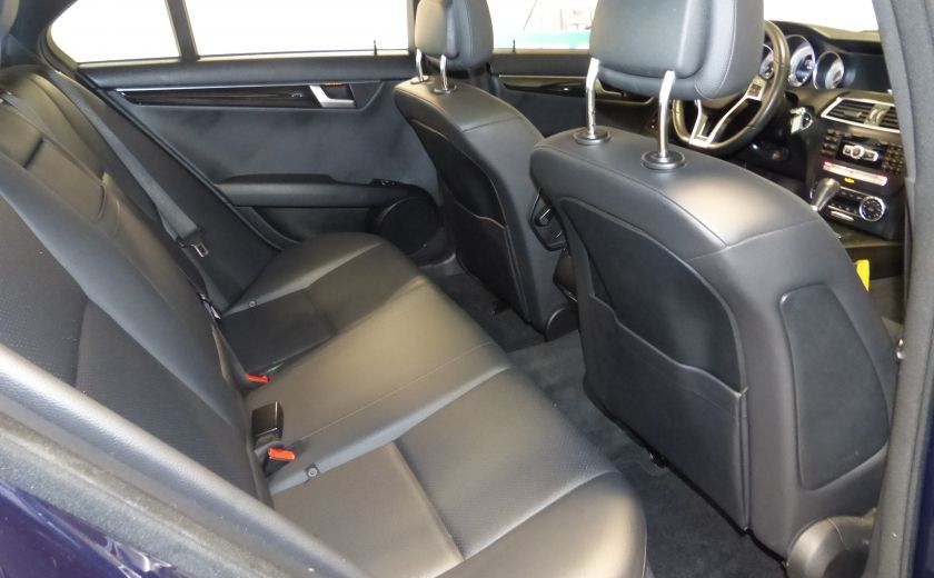 2014 Mercedes Benz C300 4 Matic AWD (CUIR-TOIT) A/C Gr-Électrique Bluetoot #27