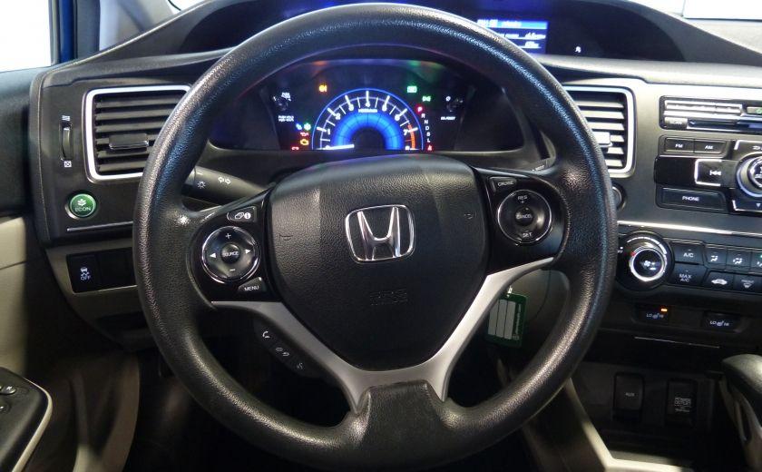 2015 Honda Civic LX A/C Gr-Électrique CAM Bluetooth #9