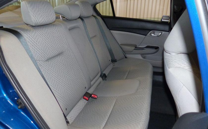 2015 Honda Civic LX A/C Gr-Électrique CAM Bluetooth #25