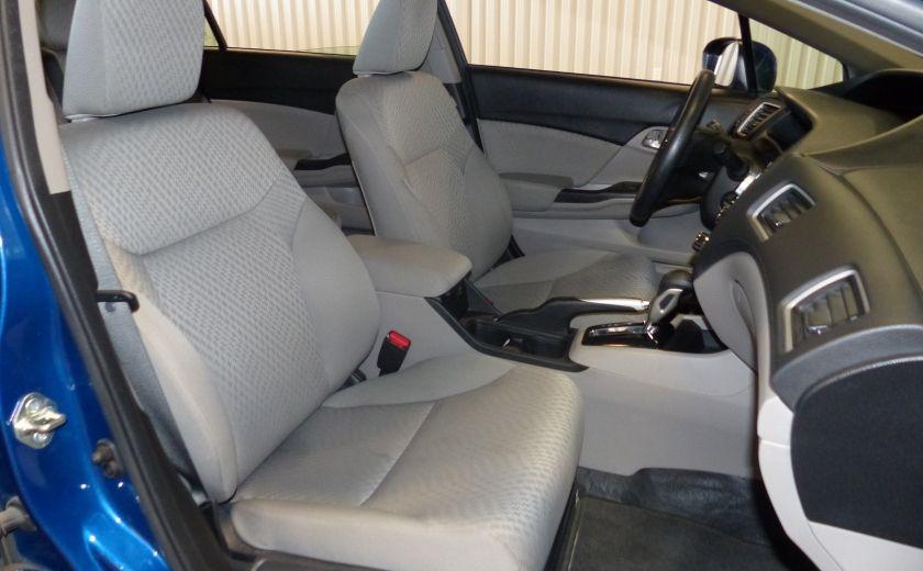 2015 Honda Civic LX A/C Gr-Électrique CAM Bluetooth #27