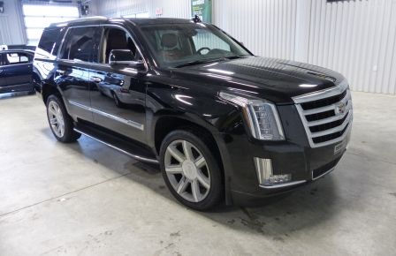 2015 Cadillac Escalade Luxury AWD (CUIR-TOIT-NAV) 7 Passage  Bluetooth in Longueuil