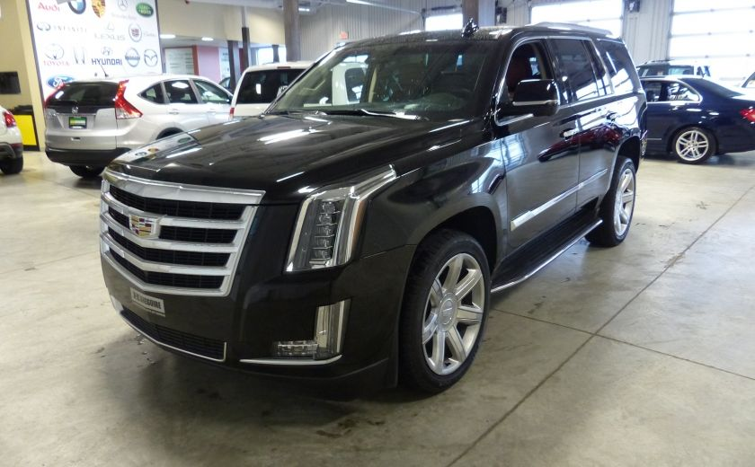 2015 Cadillac Escalade Luxury AWD (CUIR-TOIT-NAV) 7 Passage  Bluetooth #2
