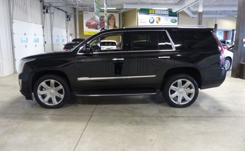 2015 Cadillac Escalade Luxury AWD (CUIR-TOIT-NAV) 7 Passage  Bluetooth #3