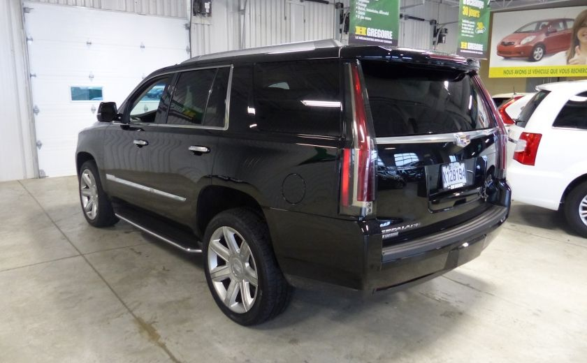 2015 Cadillac Escalade Luxury AWD (CUIR-TOIT-NAV) 7 Passage  Bluetooth #4