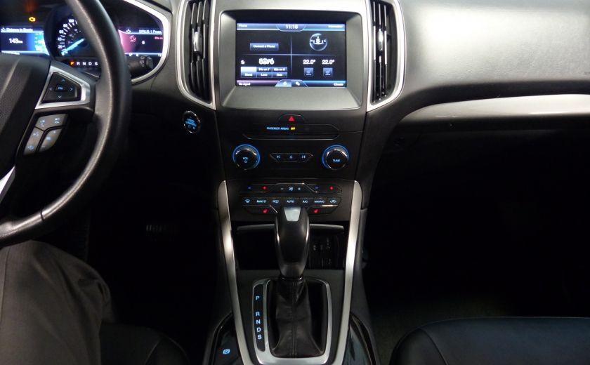 2015 Ford EDGE SEL AWD CUIR Camera Bluetooth A/C #15