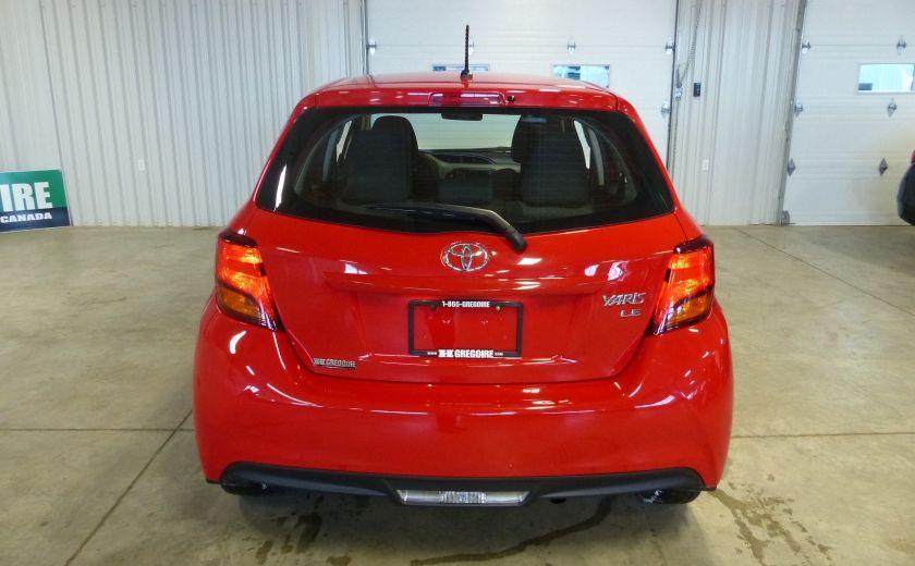 2015 Toyota Yaris LE HATCHBACK A/C Gr-Électrique #5