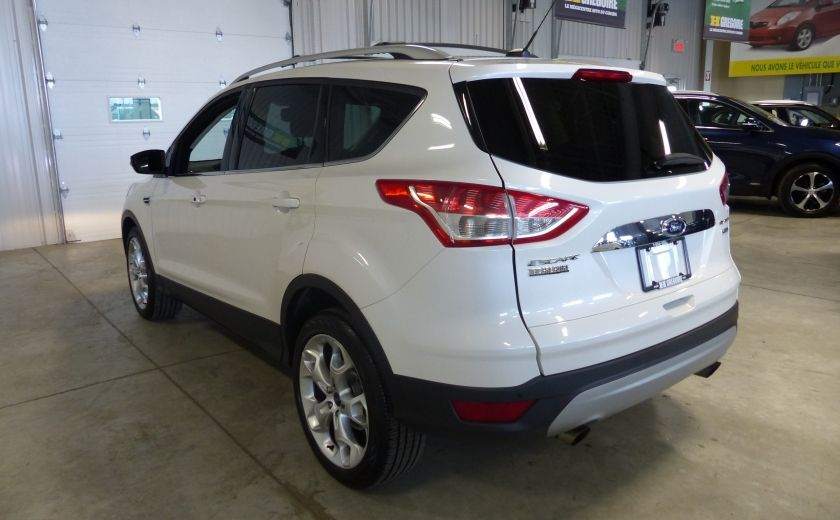2014 Ford Escape Titanium AWD (CUIR-TOIT-NAV) Bluetooth Cam #4