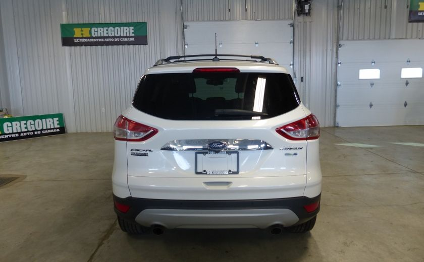 2014 Ford Escape Titanium AWD (CUIR-TOIT-NAV) Bluetooth Cam #5