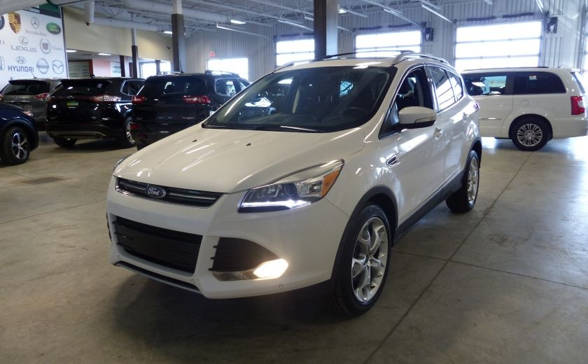 2014 Ford Escape Titanium AWD (CUIR-TOIT-NAV) Bluetooth Cam #2
