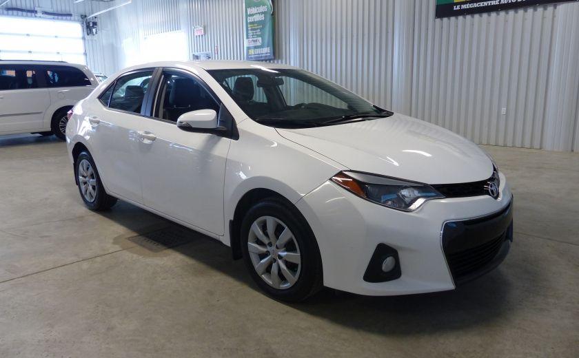 2015 Toyota Corolla S A/C Gr-Électrique Bluetooth Cam #0