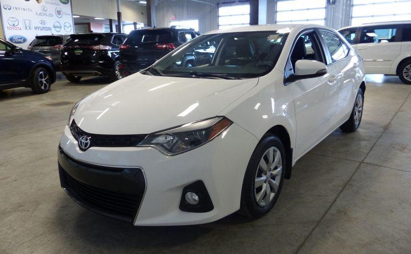 2015 Toyota Corolla S A/C Gr-Électrique Bluetooth Cam #2