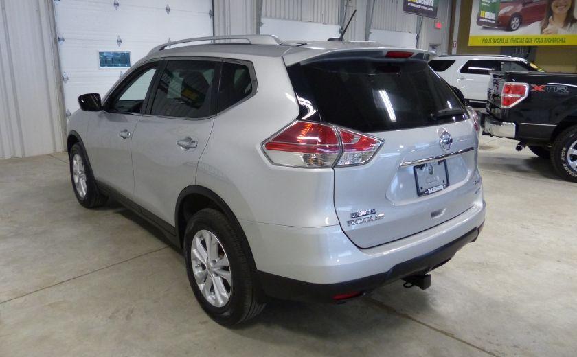 2014 Nissan Rogue SV AWD TOIT A/C Gr-Électrique Cam Bluetooth #4