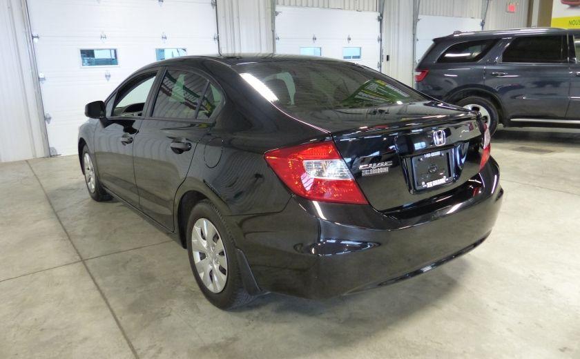 2012 Honda Civic LX A/C Gr-Électrique #4