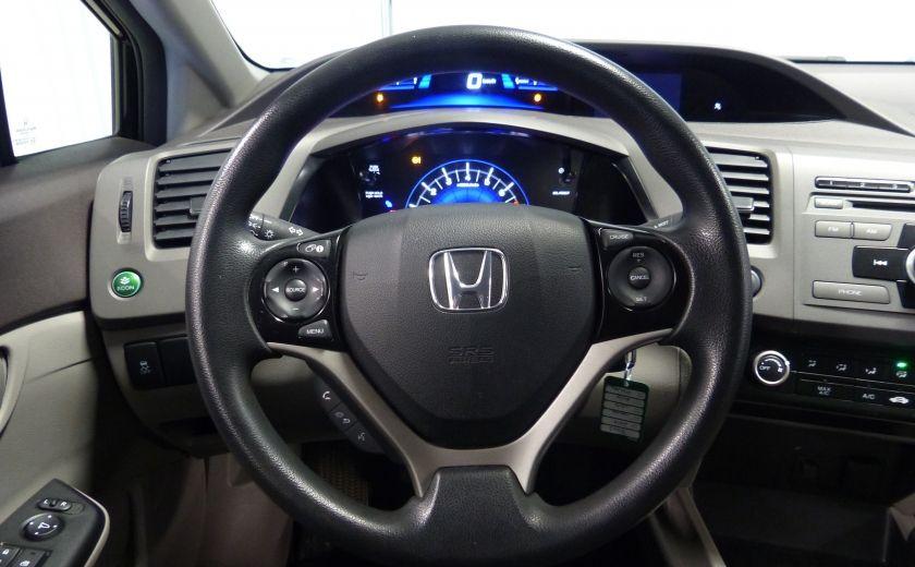 2012 Honda Civic LX A/C Gr-Électrique #9