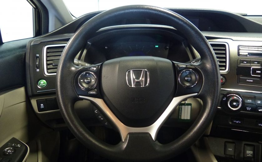 2015 Honda Civic LX A/C Gr-Électrique Bluetooth Camera #9