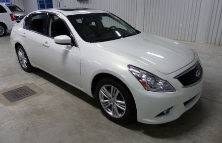2013 Infiniti G37 Luxury AWD (CUIR-TOIT-NAV) Cam Bluetooth in Sept-Îles