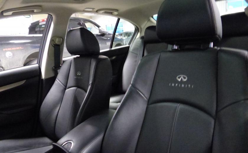 2013 Infiniti G37 Luxury AWD (CUIR-TOIT-NAV) Cam Bluetooth #9