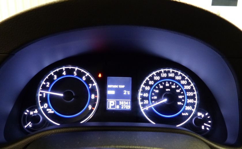 2013 Infiniti G37 Luxury AWD (CUIR-TOIT-NAV) Cam Bluetooth #17