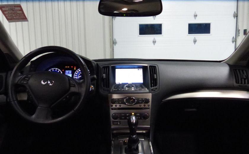 2013 Infiniti G37 Luxury AWD (CUIR-TOIT-NAV) Cam Bluetooth #26