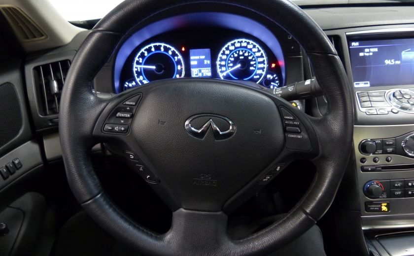 2013 Infiniti G37 Luxury AWD (CUIR-TOIT-NAV) Cam Bluetooth #14