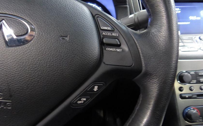 2013 Infiniti G37 Luxury AWD (CUIR-TOIT-NAV) Cam Bluetooth #15