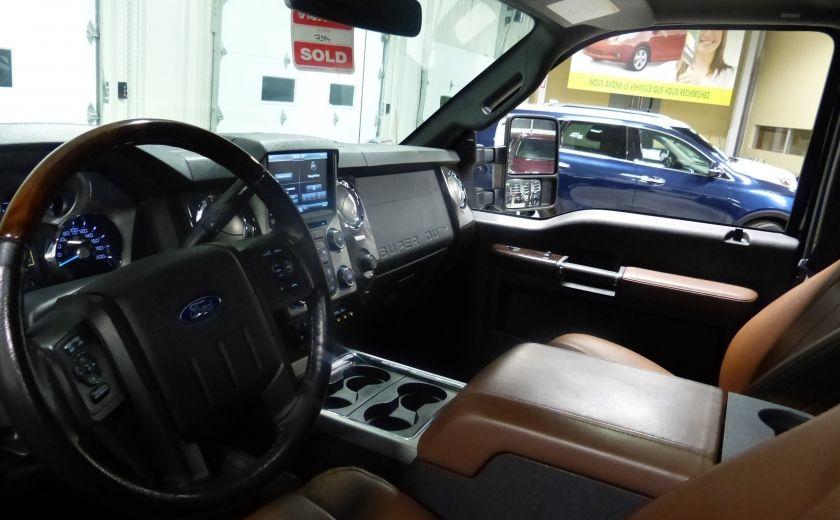 2015 Ford F250SD Lariat 4X4 Turbo Diesel  (CUIR-TOIT-NAV) CAM Bluet #8