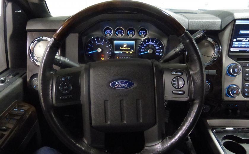 2015 Ford F250SD Lariat 4X4 Turbo Diesel  (CUIR-TOIT-NAV) CAM Bluet #15