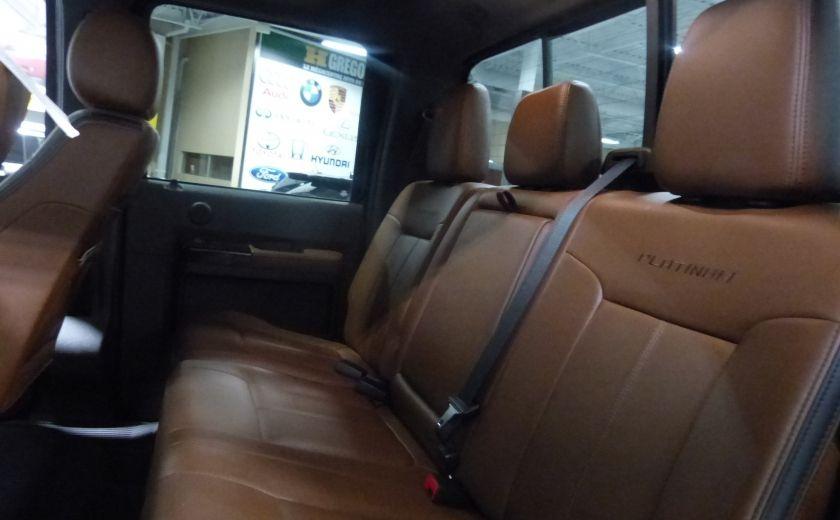 2015 Ford F250SD Lariat 4X4 Turbo Diesel  (CUIR-TOIT-NAV) CAM Bluet #28