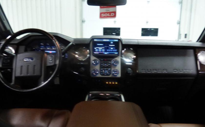 2015 Ford F250SD Lariat 4X4 Turbo Diesel  (CUIR-TOIT-NAV) CAM Bluet #29