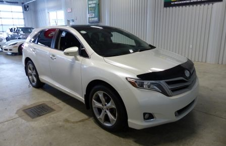 2013 Toyota Venza V6 AWD A/C Gr-Électrique (Cuir-Mags) in Sherbrooke