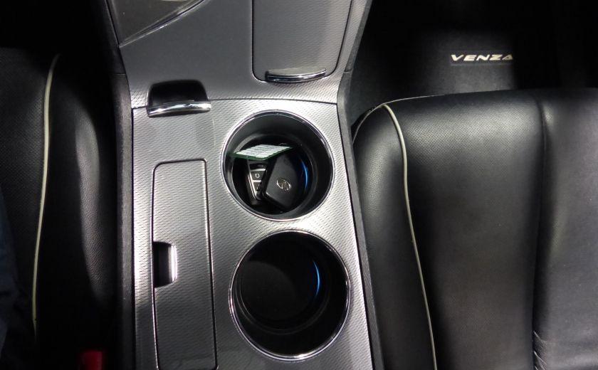 2013 Toyota Venza V6 AWD A/C Gr-Électrique (Cuir-Mags) #19