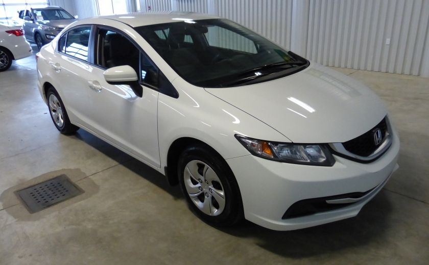 2015 Honda Civic LX A/C Gr-Électrique Bluetooth Cam #0