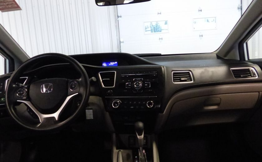2015 Honda Civic LX A/C Gr-Électrique Bluetooth Cam #23