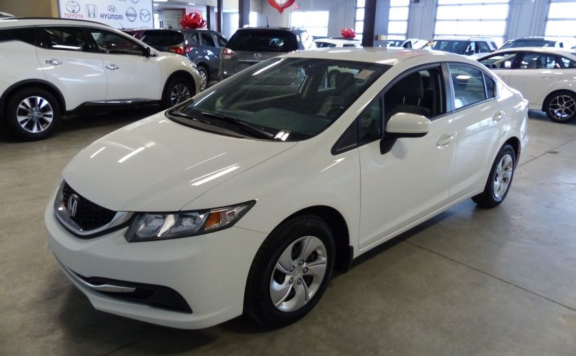 2015 Honda Civic LX A/C Gr-Électrique Bluetooth Cam #2