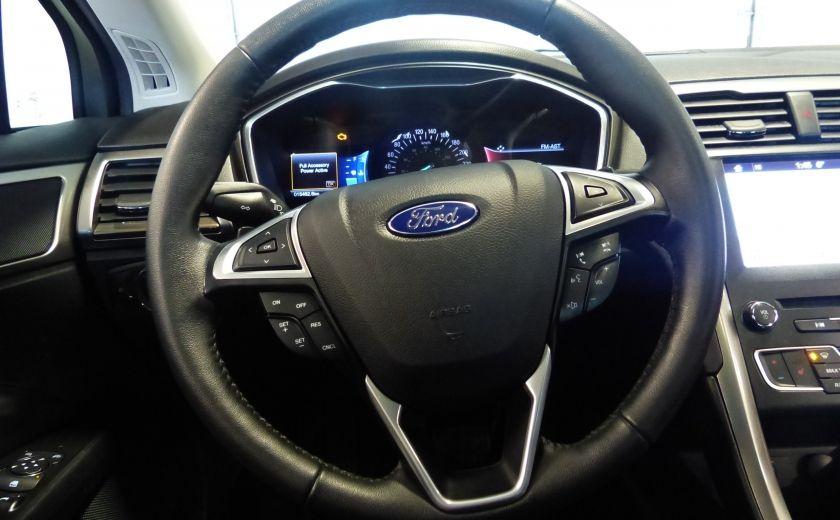 2017 Ford Fusion SE 2.0T AWD A/C Gr-Électrique (Cuir-Nav-Mags) #9