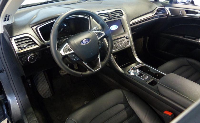 2017 Ford Fusion SE 2.0T AWD A/C Gr-Électrique (Cuir-Nav-Mags) #8