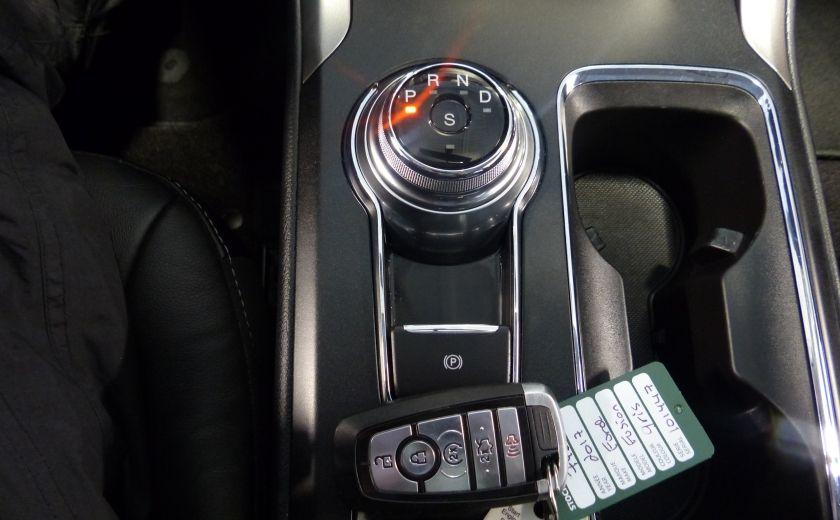 2017 Ford Fusion SE 2.0T AWD A/C Gr-Électrique (Cuir-Nav-Mags) #17